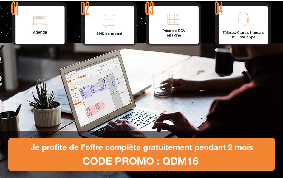 7360bb4d7d5842 Le Quotidien du Médecin.fr vous propose de bénéficier de 2 mois gratuits à l offre  complète, avec le code promo QDM16, juqu au 31 décembre 2016